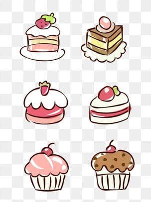 Elementy Pitaniya Risovannoj Milyj Multfilm Desert Tort Desertnyj Klipart Desert Tort Png I Vektor Png Dlya Besplatnoj Zagruzki Cute Cartoon Food Cartoon Cake Cartoon Birthday Cake