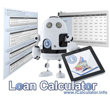 Loan Calculator Monthly Interest Calculator And Personal Loan Repayment Illustration Loan Calculator Interest Calculator Personal Loans
