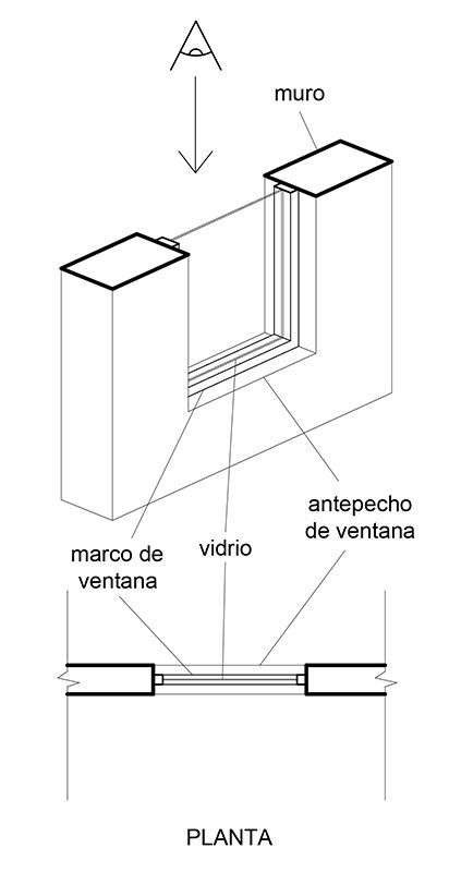 Planimetria 04 Representacion En Planos De Muros Puertas Y Vent Dibujo Arquitectonico De Interiores Presentacion De Diseno De Interiores Bocetos Arquitectura