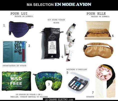 9f8a611ac19d71 kit avion nécessaires accessoires indispensables tendance mode lifestyle