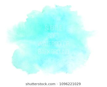 Colorful Abstract Vector Background Soft Blue And Green