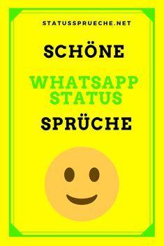 Einfach Schöne Whatsapp Status Sprüche Schöne Status