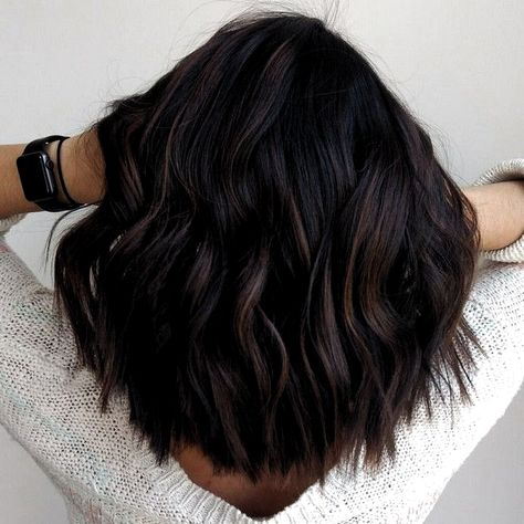 Top 100 hair color trends for brunettes 2019 Page 04 # SummerNa… . Fall Hair Color For Brunettes, Fall Hair Colors, Hair Color For Black Hair, Dark Hair, Red Hair, Brunette Girls, Brunette Hair, Brunette Color, Copper Balayage