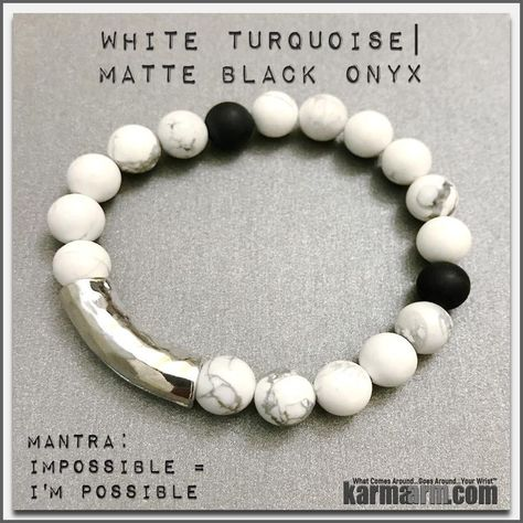 lucky White Turquoise is a stone of...
