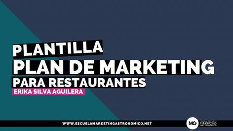 Ejemplo Plan De Marketing Sencillo Para Restaurantes Plantilla Pdf En 2020 Marketing Para Restaurantes Plan De Marketing Marketing
