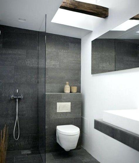 Moderne Badezimmer Bilder Kreativ On Uberall Fliesen Grau Dwbbook