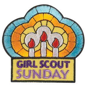 Image result for girl scou sunday