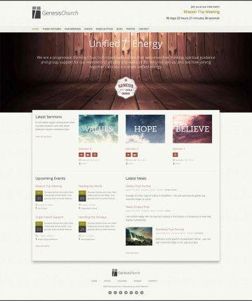 8 best website design ideas churches images on pinterest design websites site design and website designs - Church Website Design Ideas