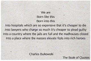 Pin De Olivia Wolf En Charles Bukowski Quotes Frases De La