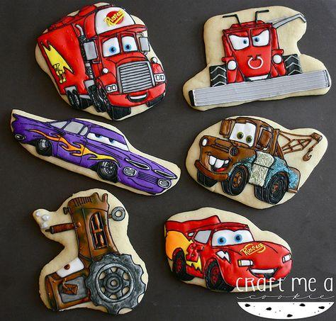 Disney Cars Character Cookies Car Cookies Disney Cookies Cartoon Cookie