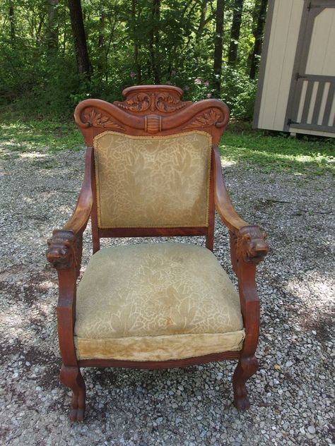 47 Antique Rocking Chair With Carved Face - Antique Rocking Chair With Carved Face - Best 2000+ Antique Decor