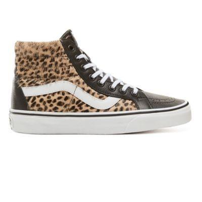 vans femme leopard