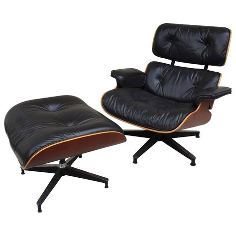 Charles Eames Lounge Chair And Ottoman For Herman Miller Eames Chair Ottoman Lounge