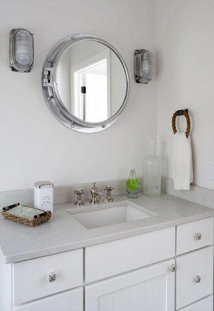 Medicine Cabinet Mirror, Nautical Bathroom Vanity Mirrors