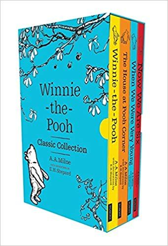 Winnie The Pooh Classic Collection A A Milne 9781405284332