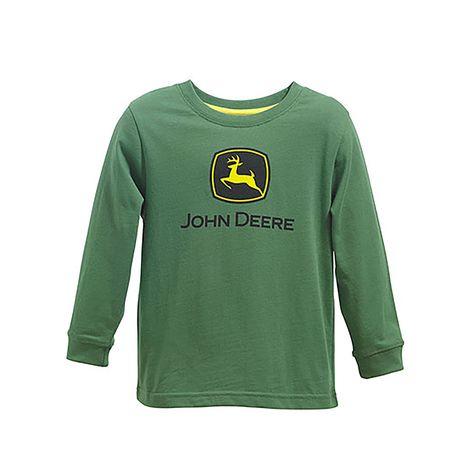 NEW John Deere Charcoal Gray T-Shirt Construction Logo Sizes S M L XL 2X 3X