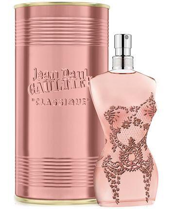 Jean Paul Gaultier Classique Eau De Parfum 3 3 Oz Reviews All Perfume Beauty Macy S Perfume Jean Paul Jean Paul Gaultier Classique Perfume