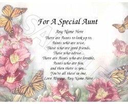 Happy Birthday Aunt Poems Birthday Wishes For Aunt Happy Birthday Aunt Birthday Quotes For Aunt