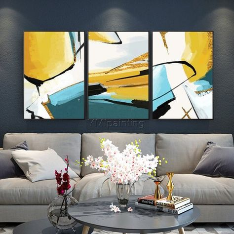 Wall Pictures For Home Decor Modern Prints Art Oil Painting Print on Canvas #002