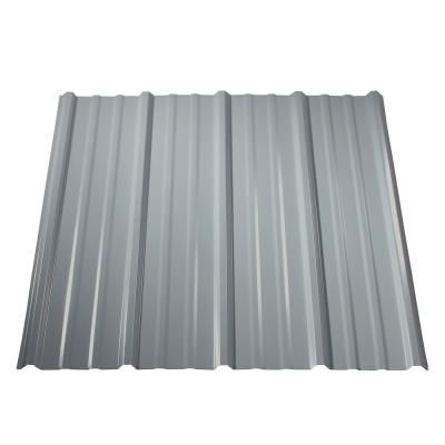 Metal Sales 12 Ft Classic Rib Steel Roof Panel In Galvalume 2313441 The Home Depot Metal Roof Panels Corrugated Metal Roof Steel Roof Panels