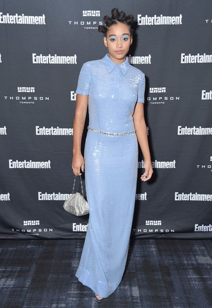Amandla Stenberg attends Entertainment Weekly's Must List Party at the Toronto International Film Festival 2018.
