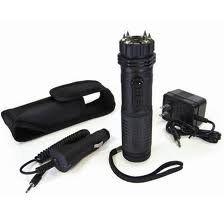 ZAP Stick 800,000 Volt Stun Gun with Flashlight - Pink