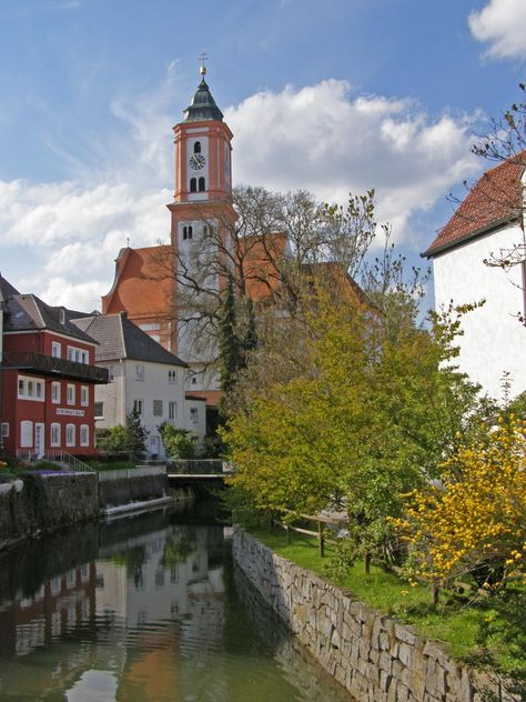 Where I'm from. Krumbach Schwaben. Bavaria, Germany.