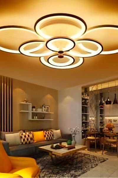 Pinterest Couple Bedroom Ideas With Lights In 2020 Modern Living Room Lighting Ceiling Lights Living Room Modern Ceiling Light