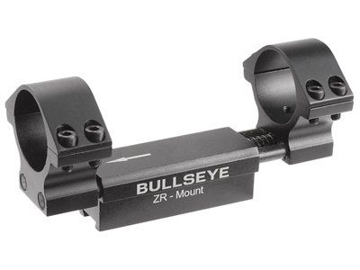 Bullseye Zr 1pc Mount 30mm Rings 11mm Dovetail 004 Droop Compensation Recoil Compensation Click Image To Review More Details Bullseye Mounting 11mm