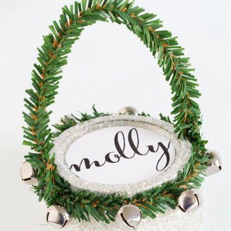 How To Hide Cords On A Wall Mounted Tv Christmas Mason Jars Mason Jar Gifts Easy Christmas Decorations