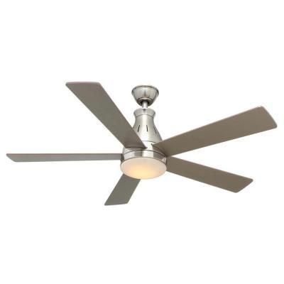 Hampton Bay Quiet Decorative 80 Cfm 2 Sone Bathroom Exhaust Fan With Led Light 80213 The Home Depot Bathroom Exhaust Fan Bathroom Fan Fan Light