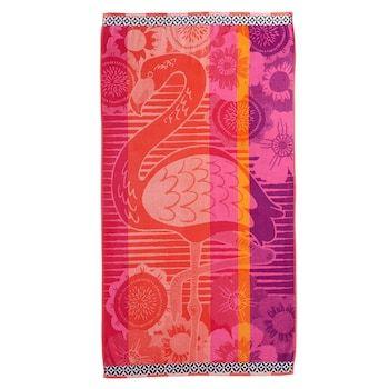 Celebrate Summer Together Flamingo Beach Towel Beach Towel