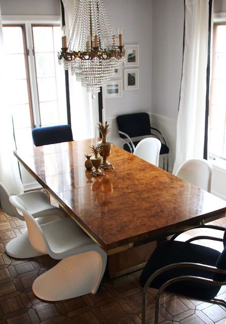 My Best Friend Craig Craigslist Monday My Burl And Brass Dining Table Burled Wood Table Brass Dining Table Burled Wood Furniture
