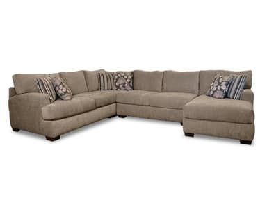 Corinthian Living Room Josephine 4 Piece Sectional G62210 at