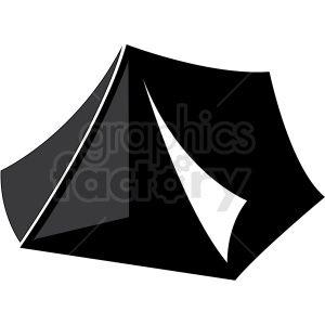 Camping Tent Vector Clip Art Tent Camping Vector Clipart