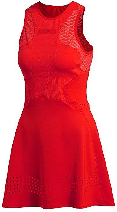 Adidas Women S Stella Mccartney Tennis Dress Core Red 191529610181 Clothing Stella Mccartney Tennis Dress Clothes For Women Tennis Dress