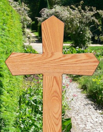 Grave Marker Art 4104 Grave Wooden Crosses Crosses Decor