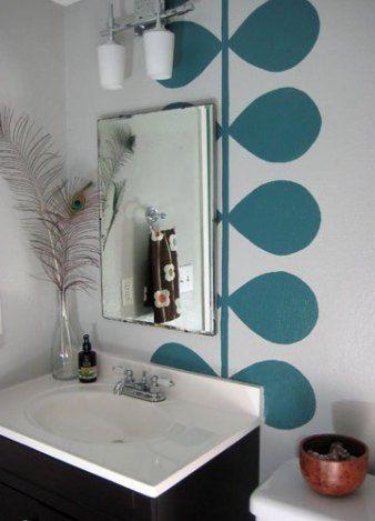 Badezimmer Wandbild Inneneinrichtung Innenwande Und Bad Wandbild