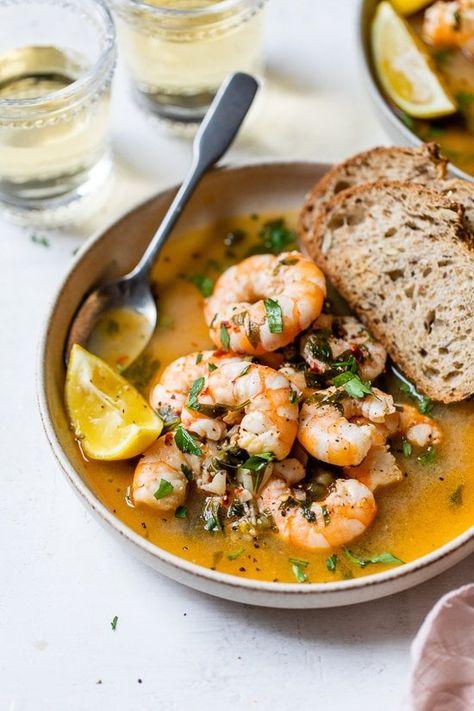 Drunken Shrimp Recipe - Skinnytaste