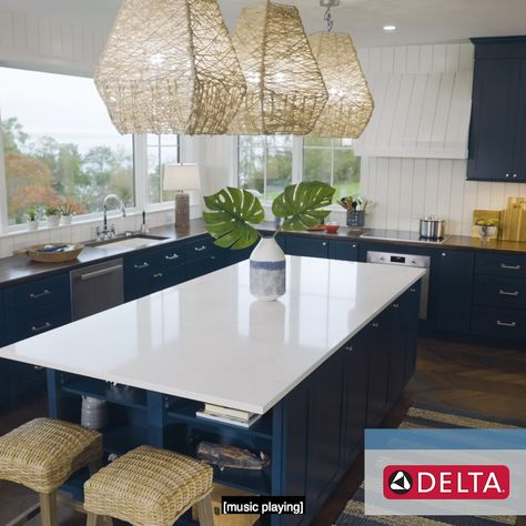 Details make all the difference. 🚰 ✨ Put HGTV Dream Home 2021 designer Brian Patrick Flynn's tips to work in your kitchen: keep it functional and make it totally your own. 🤩 Sponsored by Delta® Faucet.