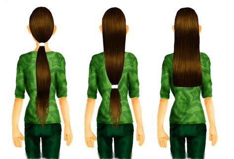 Les cheveux de Mini: Comment se couper les cheveux soi-même.