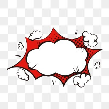 Cartoon Cute Explosion Cloud Dialog Bubble Border Material Element Cartoon Lovely Explosion Cloud Png And Vector With Transparent Background For Free Downloa Watercolour Texture Background Doodle Frame Cartoon Bubbles