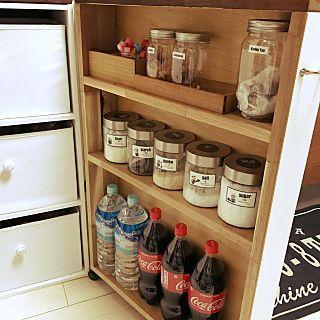 キッチン 調味料入れ ストック収納 収納スペース 収納diy などの