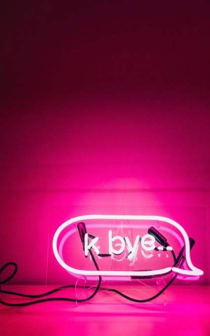 Wall Paper Pink Tumblr Neon 64 Ideas For 2019 Pink Neon Sign Neon Wallpaper Photo Wall Collage