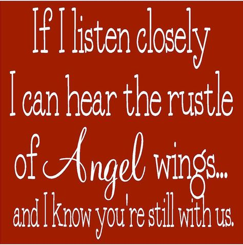 If I listen closely......