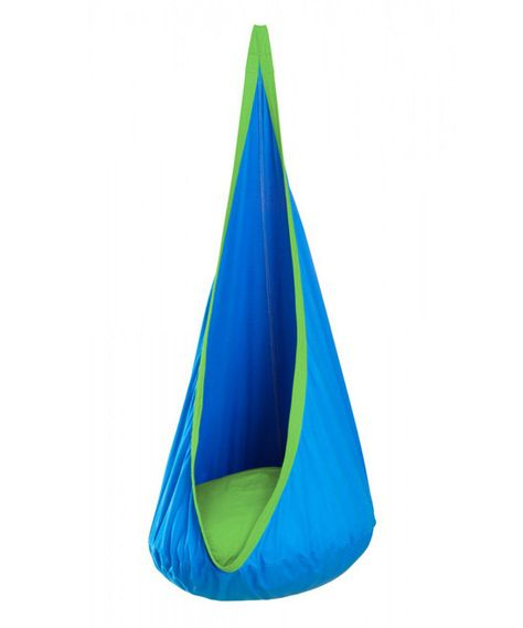 Hanging Crow's Nest Hammock - perfect for a child's bedroom or playroom.