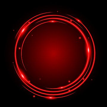 Abstract Circle Light Red Frame Vector Background Red Circle Neon Sign Png And Vector With Transparent Background For Free Download In 2021 Circle Light Vector Background Red Frame