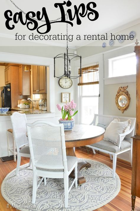 Easy Ways to Decorate a Rental Home for Spring | 11 Magnolia Lane