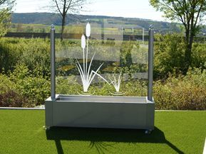 Windschutz aus Glas für Garten und Terrasse | Garten ...