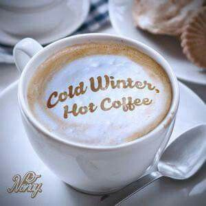 Cold Winter Hot Coffee With Images Winter Coffee Happy